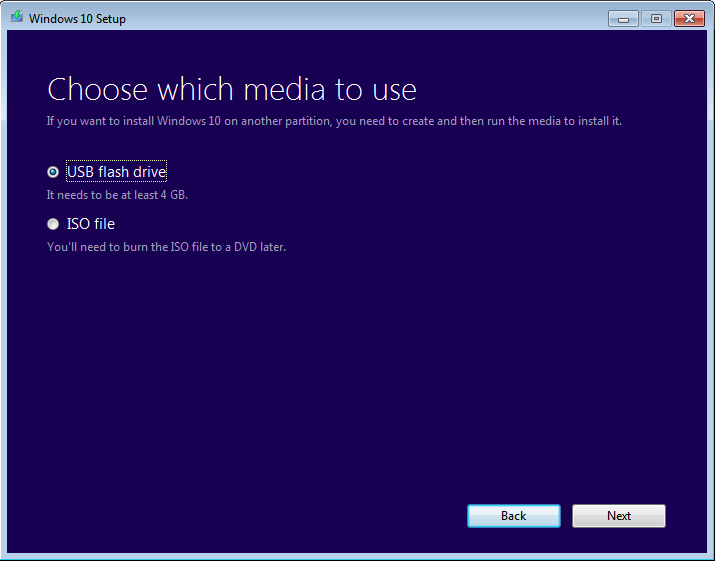 how to create network bootable image under windows