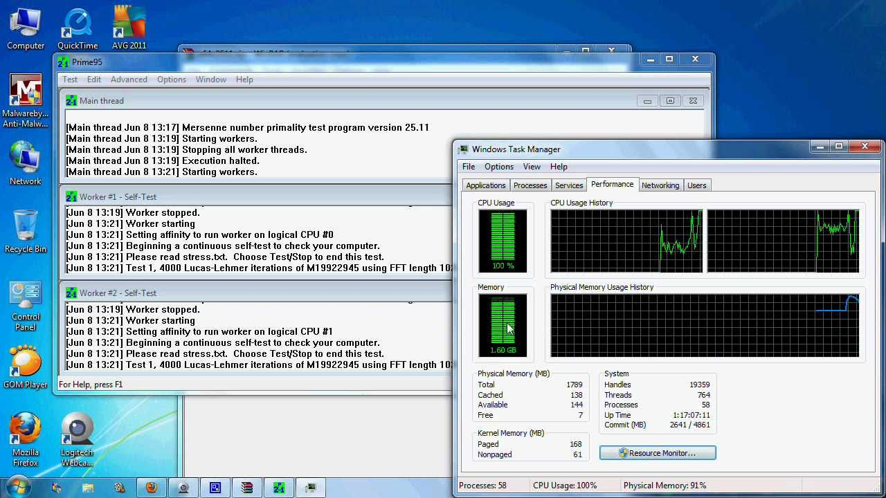 stress test for pc prime 95