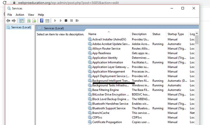how to fix Windows Update error 0x80080008