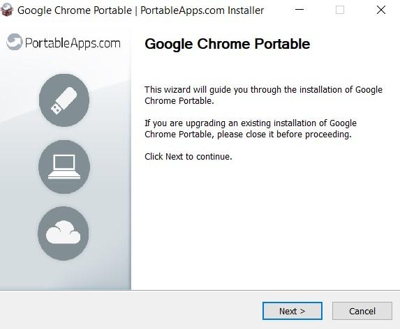 How To Use Portable Chrome