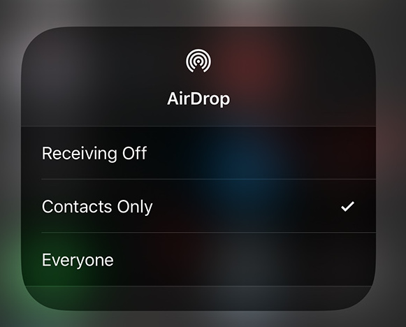 How To Turn On AirDrop