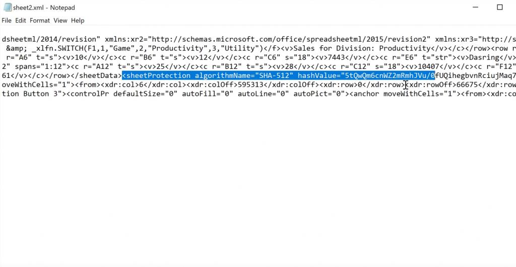 unlock password protected excel sheet