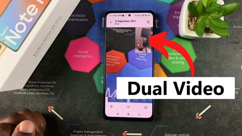 dual video on redmi note 10 pro